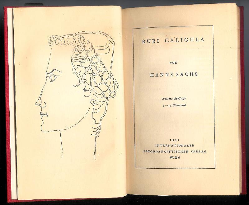 Bubi Caligula. Zweite Auflag. 3.-17.Tausend.