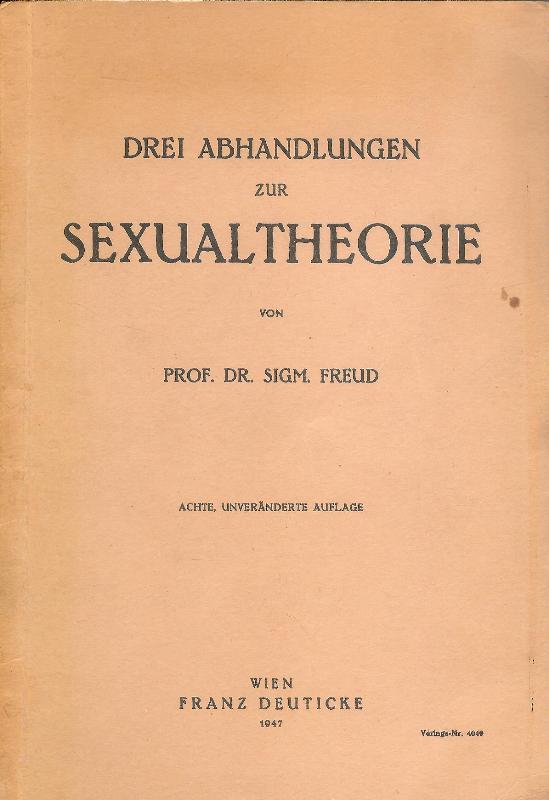 Drei Abhandlungen zur Sexualtheorie. 8., unveränd. Auflage.