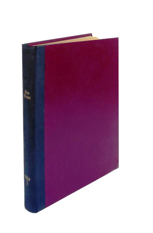 Die Frau. Früher: Die Unzufriedene. 10. Jahrgang, Heft 1 - 26 (= 1. Halbjahr, komplett in 1 Bd. gebunden).