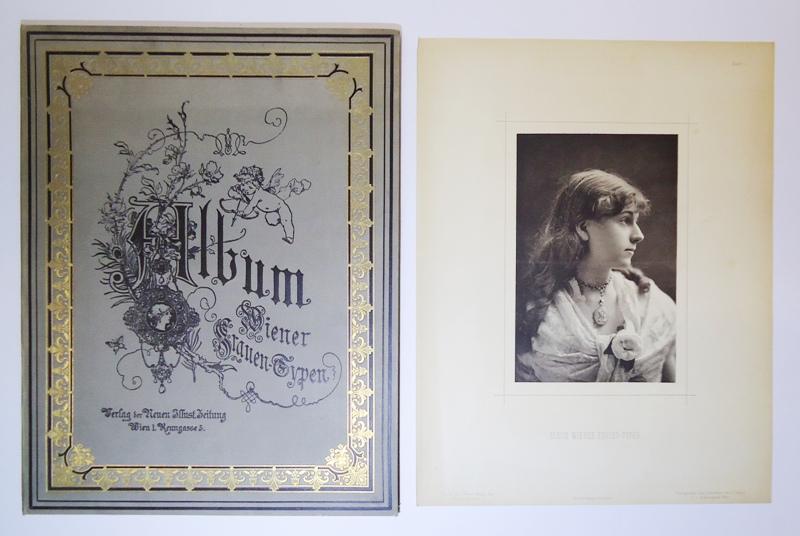 Wiener Frauen-Typen. 12 s/w Lichtdruck-Fototafeln v. J. Löwy, k.k. Hofphotograf Wien.