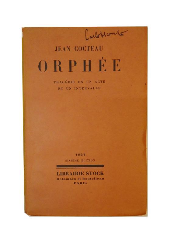 Orphee. Tragedie en un acte et un intervalle. Sixieme Edition.