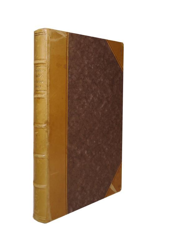 Numerierte Halblederausgabe - Plimplamplasko, der hohe Geist (heut Genie). Herausgegeben und eingeleitet von Dr. phil. Hans Henning. Neudruck der Ausgabe von 1780.