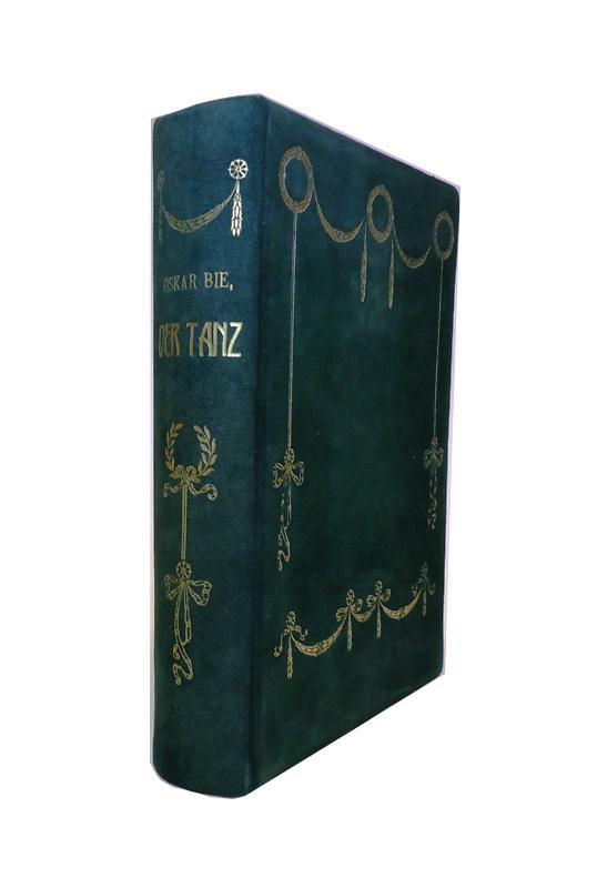 BIBLIOPHILE GANZLEDERAUSGABE - Der Tanz. 2., erweiterte Auflage.