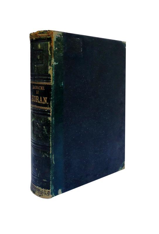 Le Koran analyse d'apres la traduction de M. Kasimirsi et les observations de plusieurs autres savantes orientalistes.