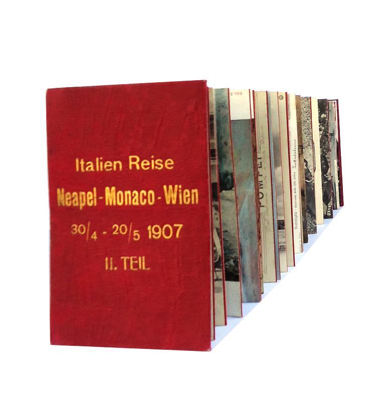 Neapel - Monaco - Salzburg. 36 Postkarten / cart postale / postcards.