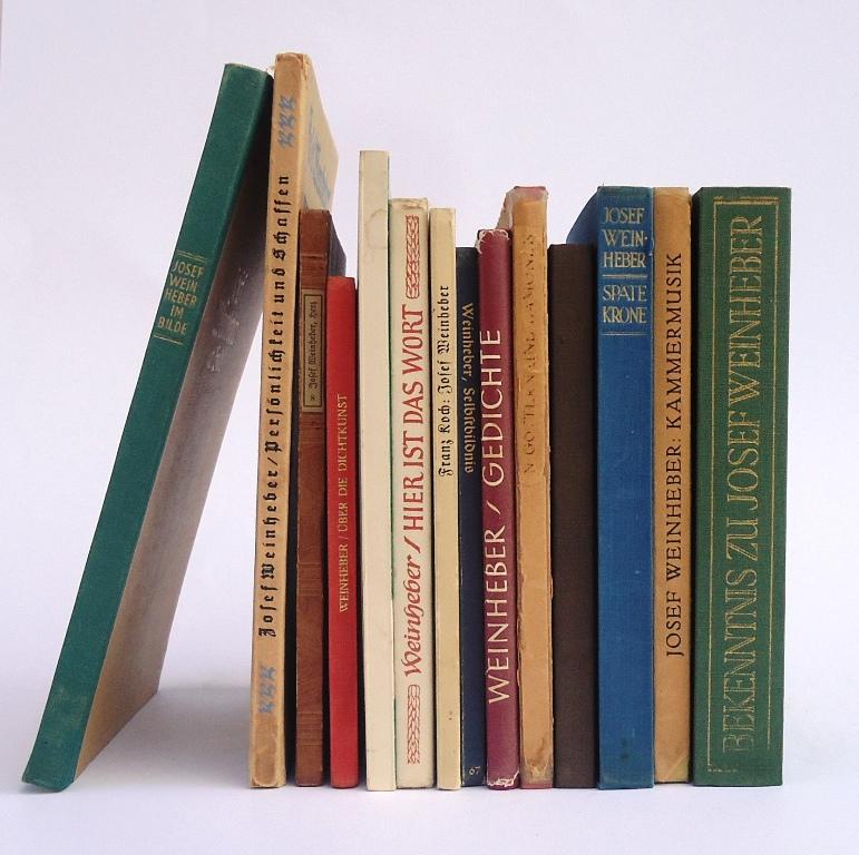 Sammlung von 14 Erstausgaben.