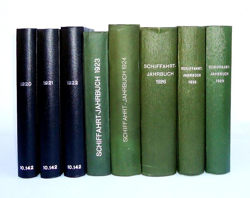 Schiffahrt-Jahrbuch. 8 Bände.