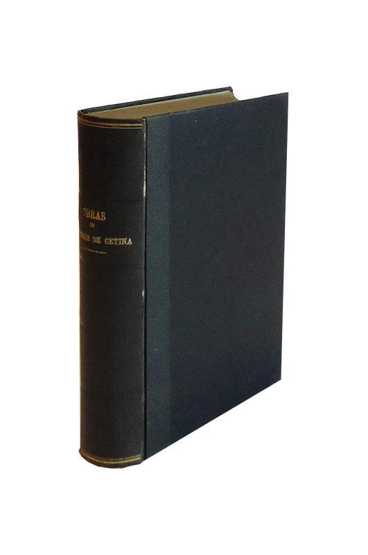 Obras. Con introducción y notas de Joaquín Hazañas y la Rúa. 2 tomos (encuadernado en 1).