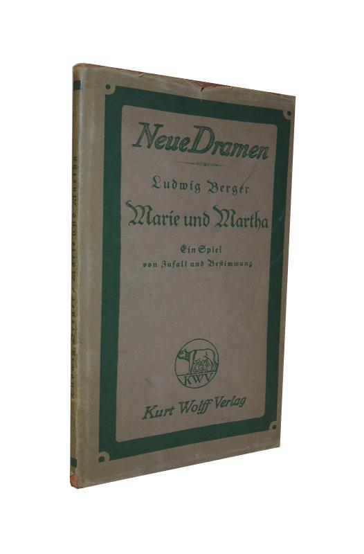 Marie und Martha. Ein Spiel von Zufall und Bestimmung.