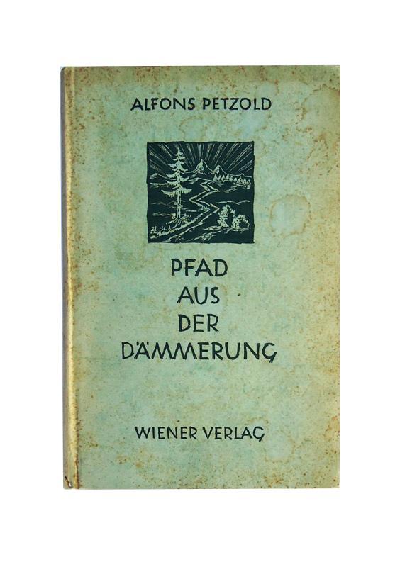 Pfad aus der Dämmerung. Gedichte und Erinnerungen. 1.-3. Tausend.