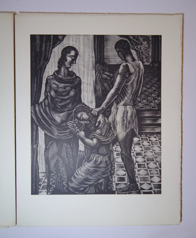 Antigone. Traduction et Gravures de Leon Masson.