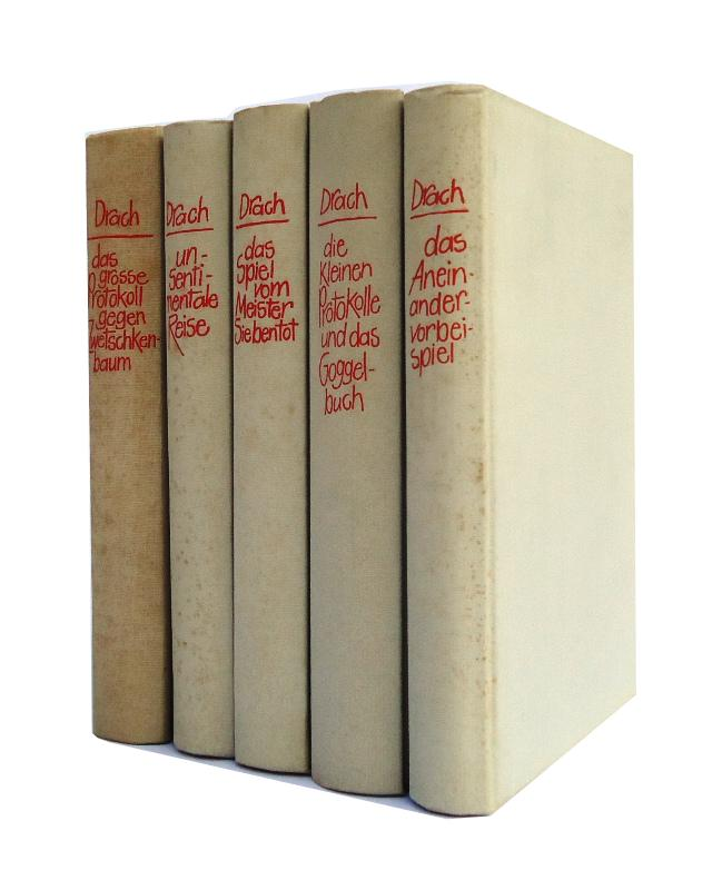 Gesammelte Werke. Bd. 1-5 (von 8).