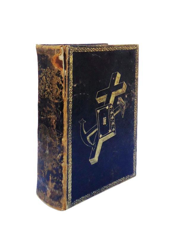 Die Haus-Bibel oder die ganze heilige Schrift alten und neuen Testaments, nach der deutschen Übersetzung Martin Luther´s. Eine Prachtausgabe mit vierzig Stahlstichen und einer Karte von Palästina.