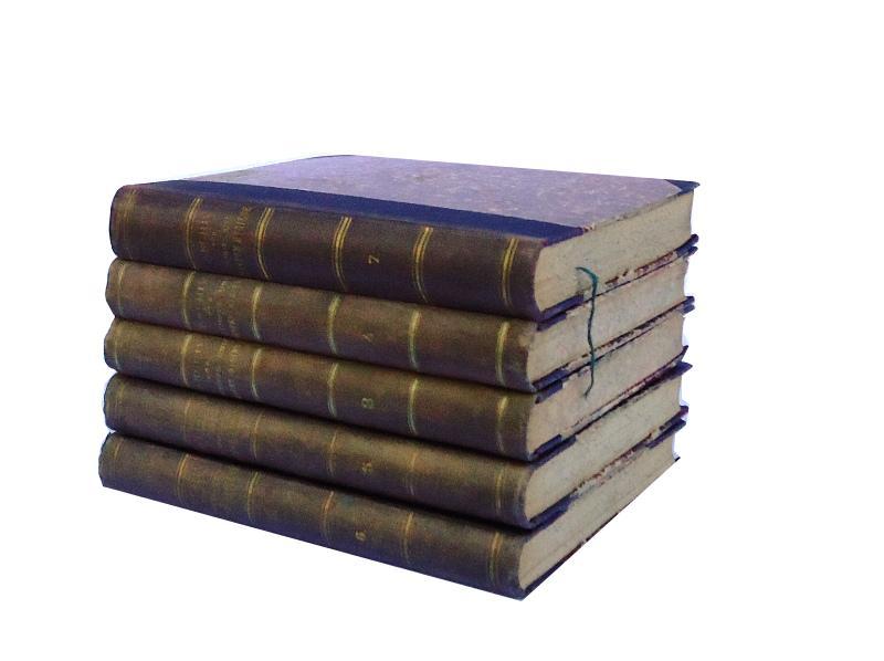 Archiv für Schiffs und Tropen-Hygiene, unter besonderer Berücksichtigung der Pathologie und Therapie. 5 Bände. (= Bd. 3-7).