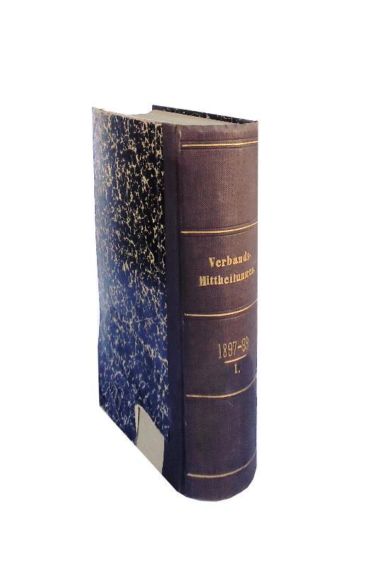 Sammelband bestehend aus 27 Verbandsberichten (1897-1899) und 4 Monographien (Wasserrecht u.a.). Gebunden in 1 Band.