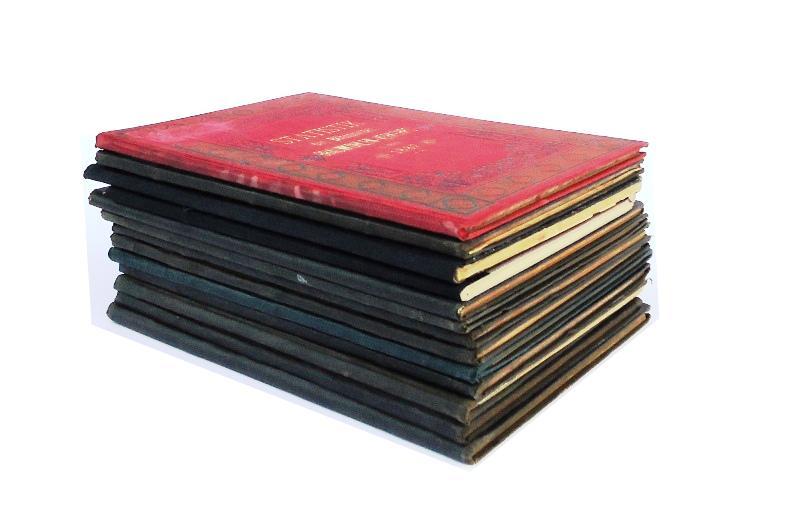 Statistik des Böhmischen Braunkohlen-Verkehrs. 13 Bände: 1878-1889 und 1898 (= 10.-21 und 30. Jg.).