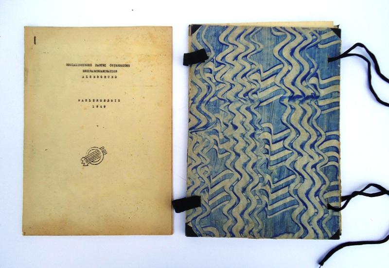 Wahlergebnis 1949. Orig.-Typoskript.