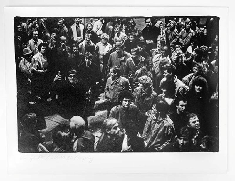 Sammlung von 4 Original-Fotografien der Leipziger