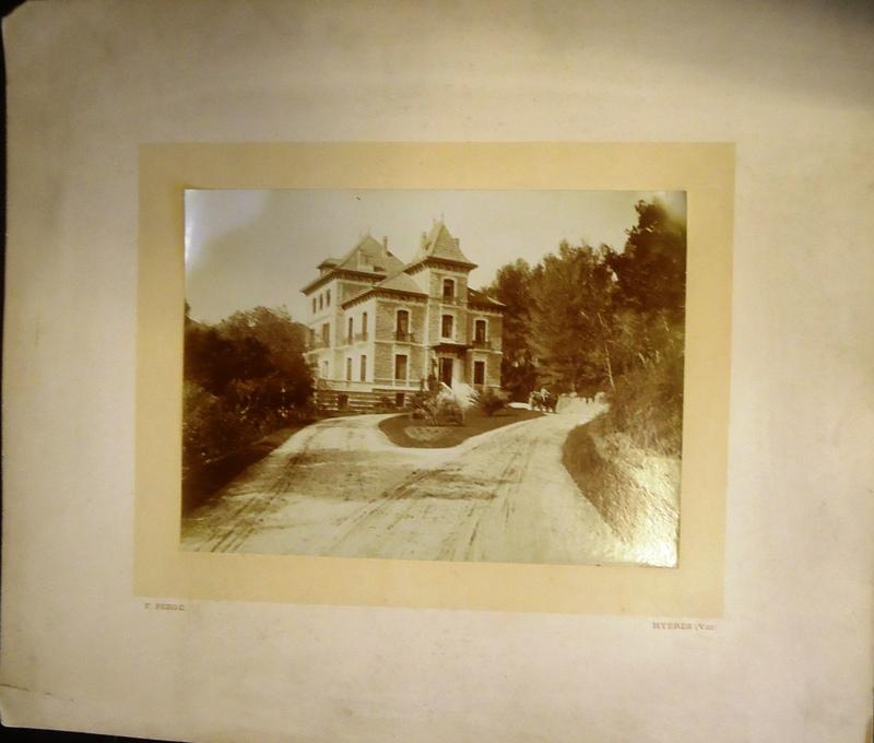 Hyères (Var). Vintage Fotografie.