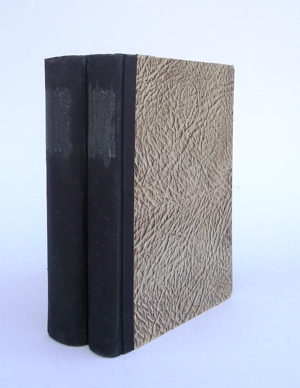 13 Hefte der Jahrgänge 1912 bzw. 1915. Gebunden in 2 Bänden.