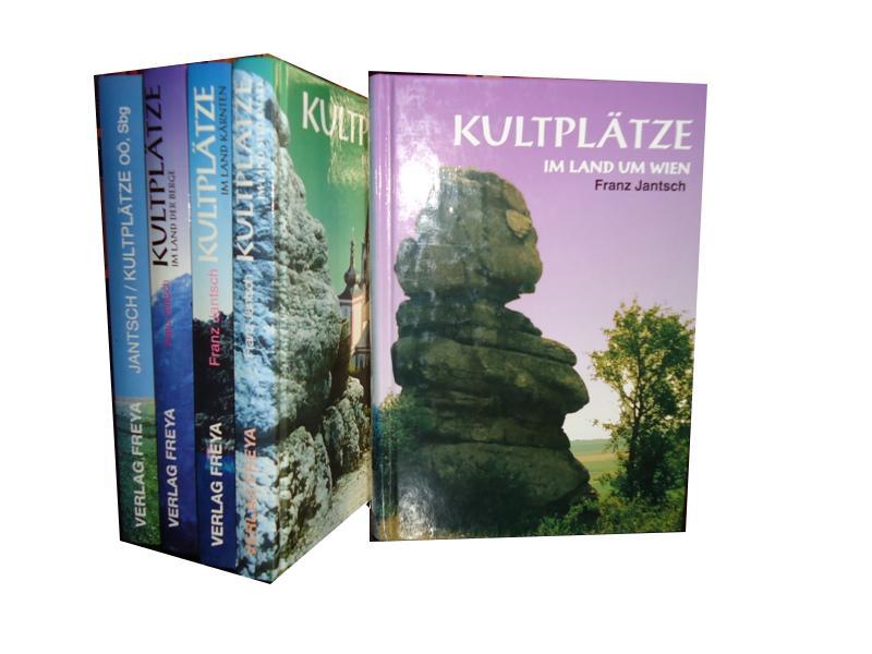 Kultplätze. 5 Bände (1. Wien. 2. Steiermark. 3. Oberösterreich und Salzburg. 4. Tirol und Vorarlberg. 5. Kärnten).