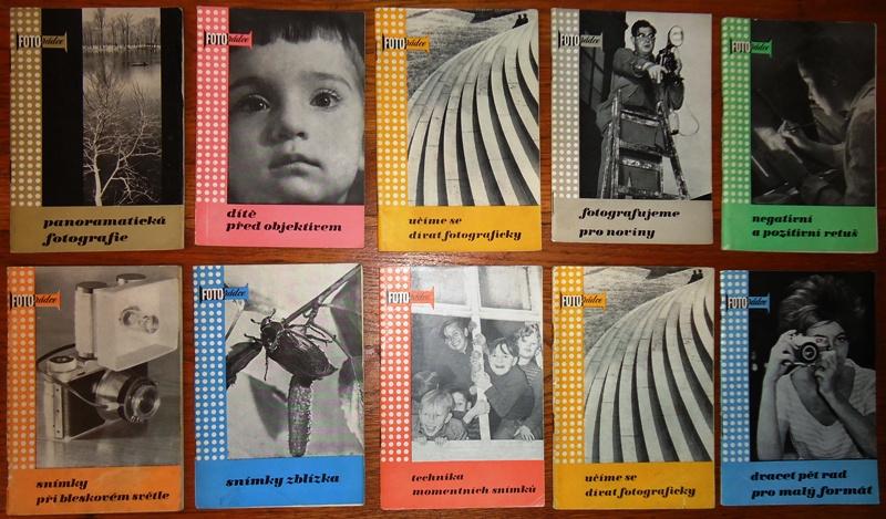 FOTORADCE. 9 Bände (Svazek 1, 2, 3, 5, 6, 8, 10, 12, 13).
