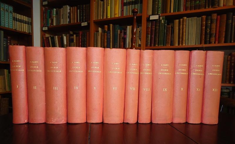 Storia universale. 13 tom. (12 tom. + Indici).