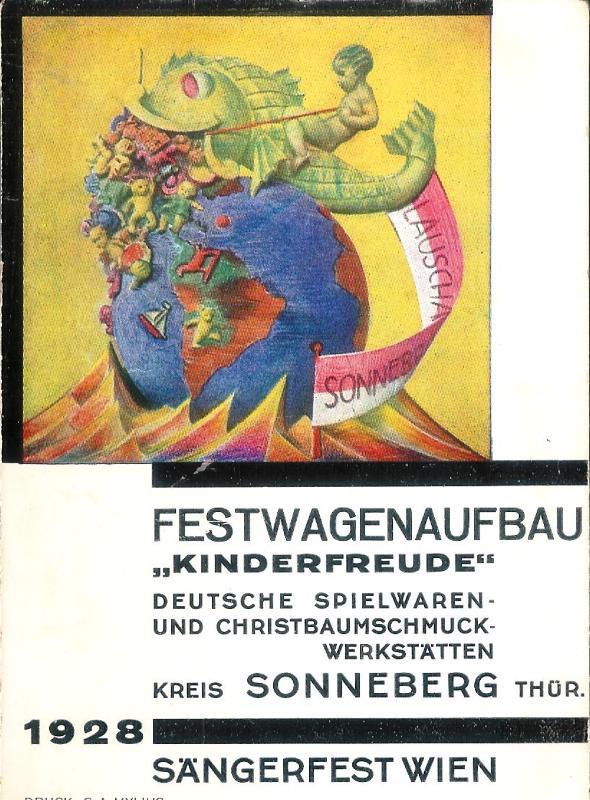 Sängerfest Wien. Festwagenaufbau