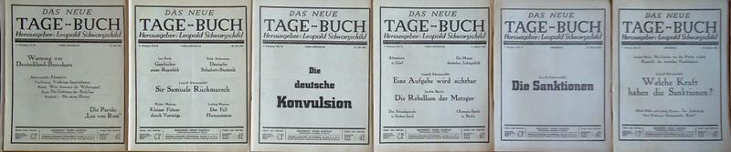 Das Neue Tage-Buch. 15 Hefte des Jahrganges 1935 (Dritter Jg.).