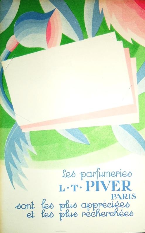 Les parfumeries L. T. Piver Paris.