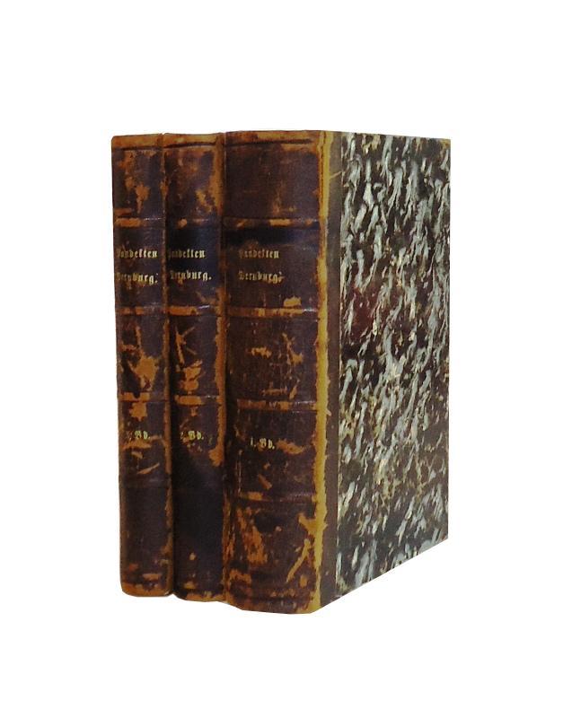 Pandekten. Komplett in 3 Bänden.