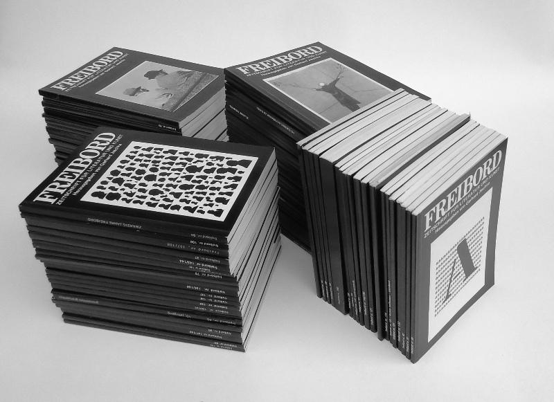 FREIBORD. Zeitschrift für Literatur und Kunst. 96 Nummern.