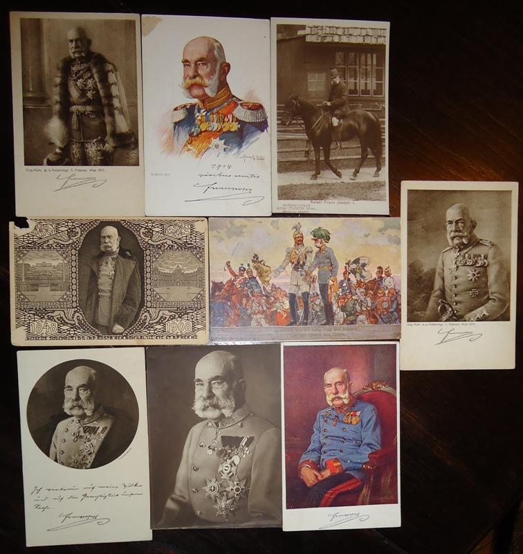 Postkartenkovolut 9 Karten.