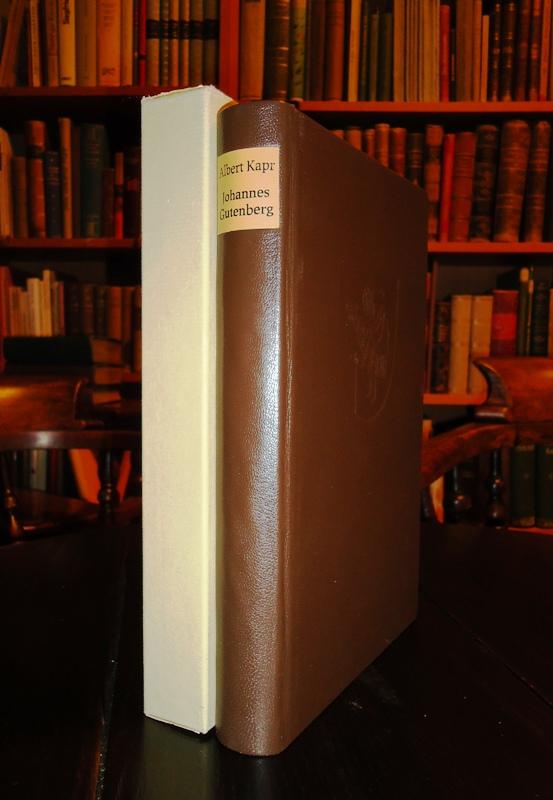Ganzlederausgabe - Johannes Gutenberg. Persönlichkeit und Leistung.