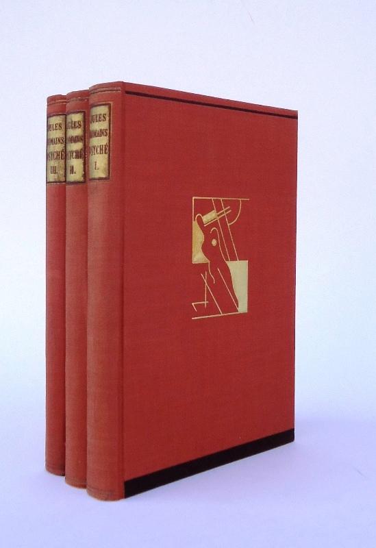 Numeriertes Exemplar - Psyche. Vol. 1-3 / Bände 1-3. Band. Komplett.