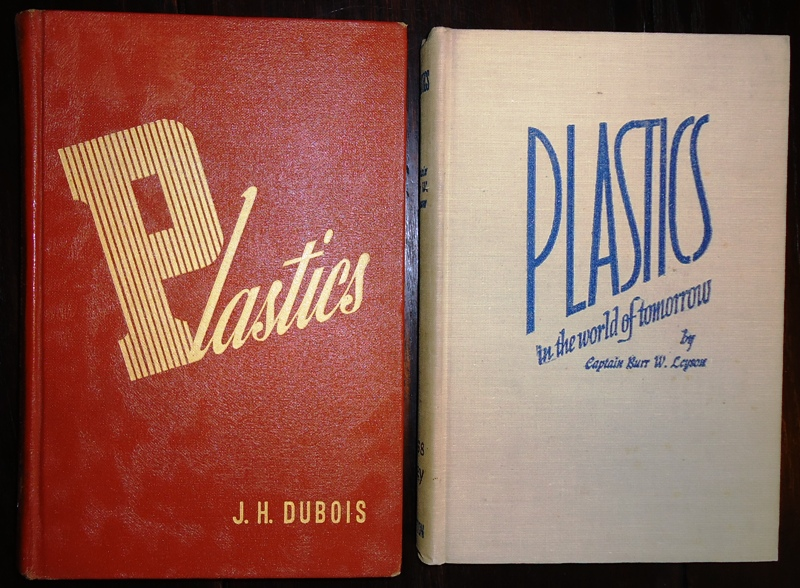 2 Vol. - 1. DuBois, J.H.: Plastics. 2. Plastics. In the world of Tomorrow.