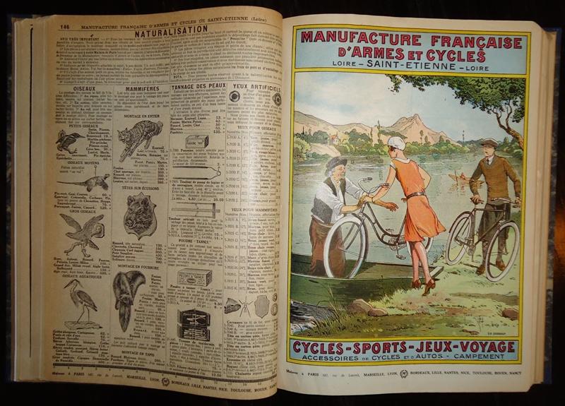 Armes - Munitions / Cycles - Sports - Jeux - Voyage / Articles et Engins de Peche / Machines a Ecrire / Coutellerie - Horlogerie - Bijouterie / La Maison / Outillage - Quincaillerie / Agriculture.