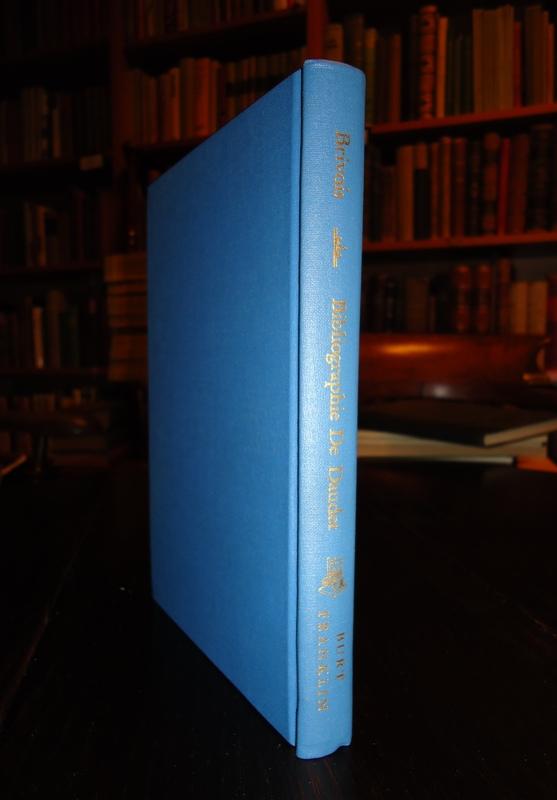 Essai de Bibliographie des Oeuvres de M. Alphonse Daudet avec fragments inedits. Reprint of edition 1894.