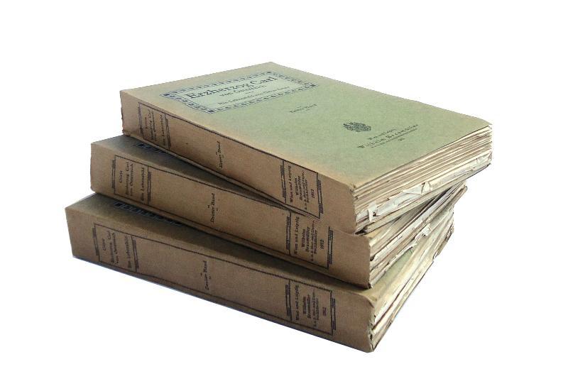Erzherzog Carl von Österreich. Ein Lebensbild im Auftrage seiner Enkel, der Herren Erzherzoge Friedrich und Eugen. Komplett in 3 Bänden.