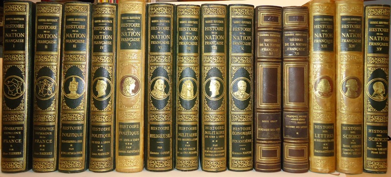 Histoire de la Nation Francaise. 14 Tomes (Tome I-XV SANS Tom IX).