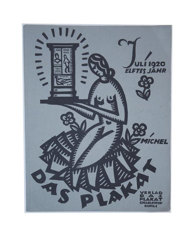Das Plakat, Zeitschrift des Vereins der Plakatfreunde e.V. für Kunst und in derReklame. 11. Jahrgang, Heft 7, Juli 1920.