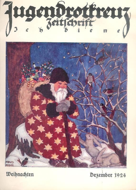 Jugendrotkreuz. Zeitschrift Ich diene. 19 Hefte der Jahrgänge 1924-1926.