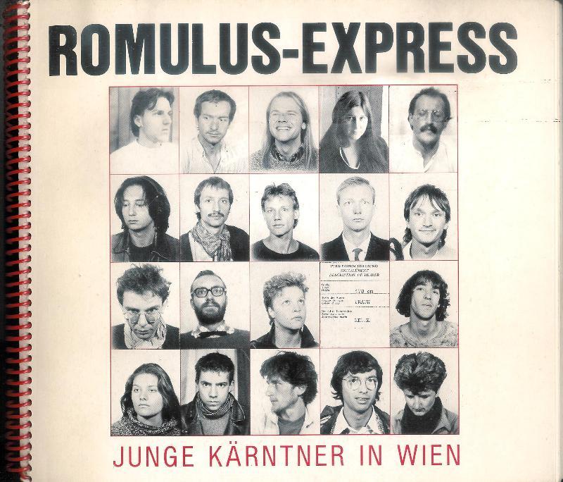 Romulus-Express. Junge Kärntner in Wien. Verbindung zwischen Kärnten und Wien.