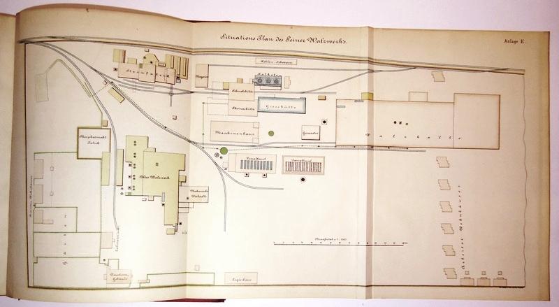 Die Ilseder Hütte, ihre Entstehung und weitere Entwicklung von 1858 bis auf die neueste Zeit.