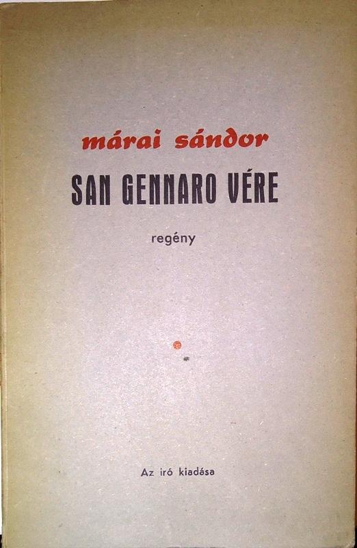 San Gennaro Vere. Regeny.