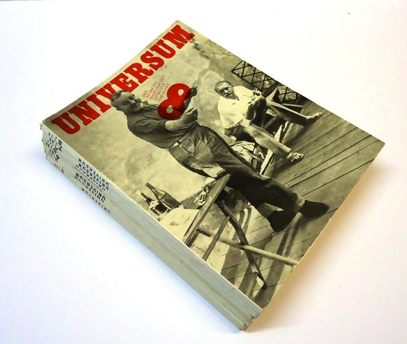 Universum der tschecho/slowakischen Literatur und Kunst. 8 Hefte (Nr. 1, 2, 3, 4,  5, 6, 7, 8)