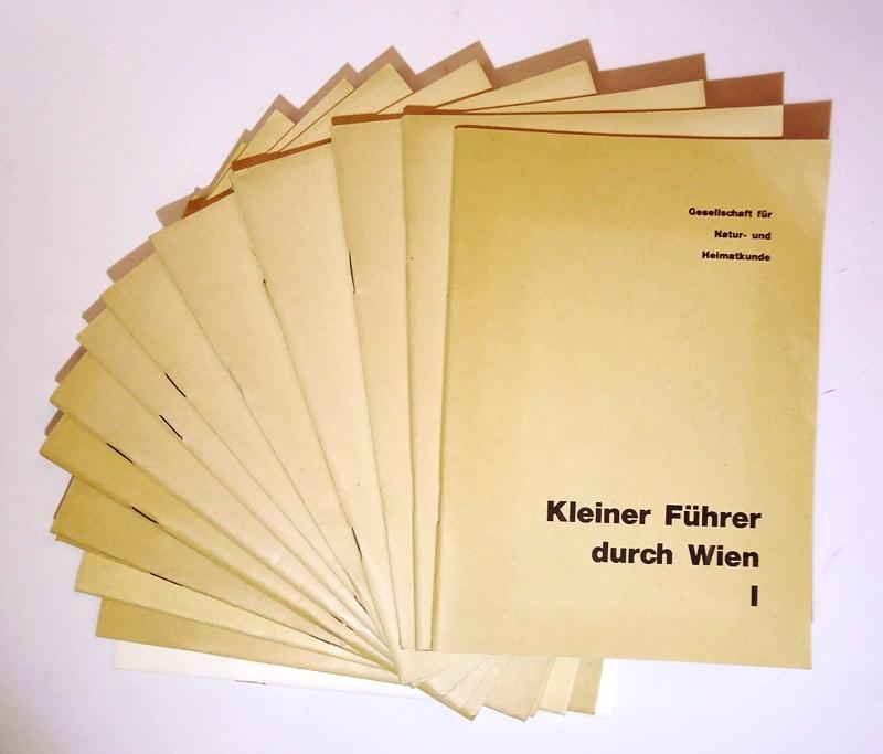 Kleiner Führer durch Wien. Bd. 1-15 (Komplett).