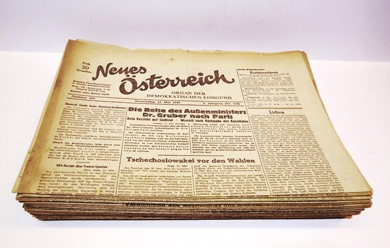 91 Originalhefte. 1. und 2. Jahrgang (30. Oktober 1945 - 23. Mai 1946).