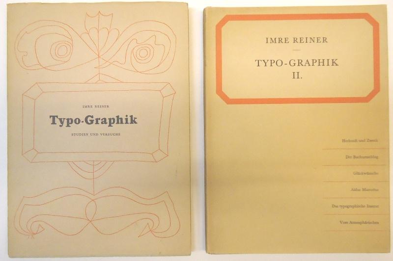 Typo-Graphik. I und II. Band.