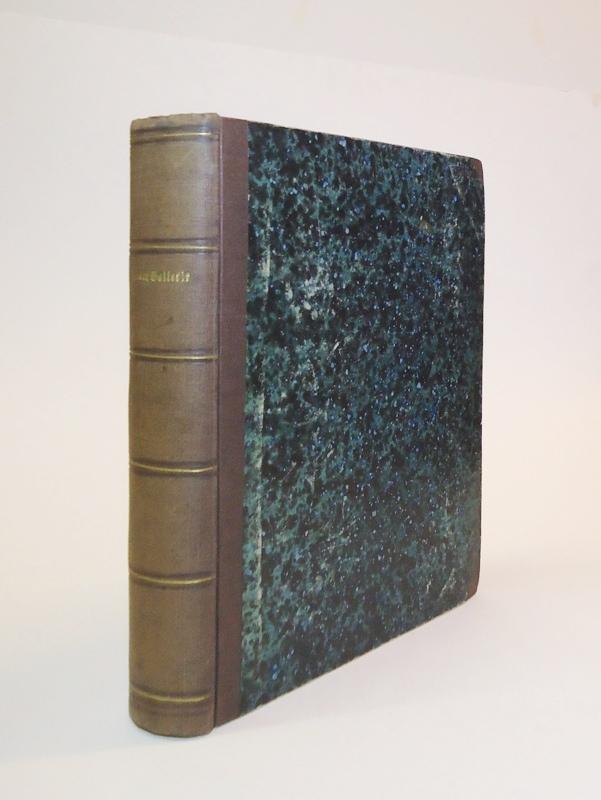 Systematische Bilder-Gallerie zur allgemeinen deutschen Real Encyclopädie Conversations-Lexicon in 213 lithographirten Blättern. 4 Abtheilungen in 1 Band.